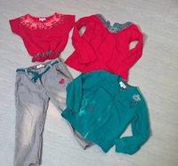 cie des petits haut 8 ans gilet et pantalon 6 ans gilet bien  porté 18 euros
