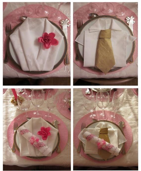 Bapt me de maxime le 19 novembre 2011 bapt me forum famille for Pliage de serviette en forme de rose