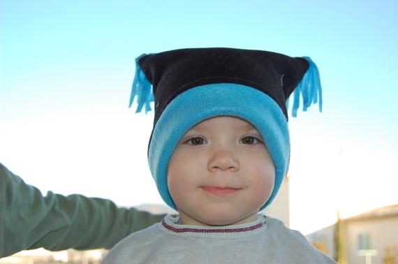 petit bonnet polaire doublé.