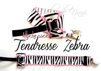 tendresse zebra