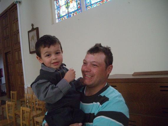 Noah et son papa