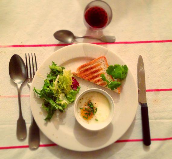 Oeufs cocotte / On mange quoi ce soir ? ©