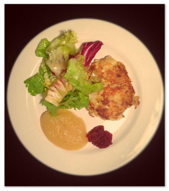 Accompagnement Kartoffelpuffer / On mange quoi ce soir ©