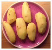 Pommes de terre pelées / On mange quoi ce soir ©