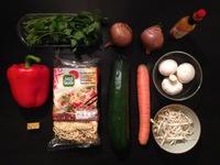 One pot pasta / ingrédients / On mange quoi ce soir ©