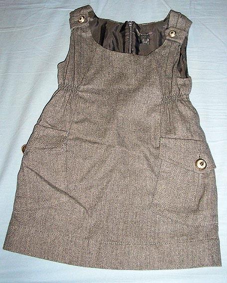 3d96b2002979b Robe en laine ZARA 2-3 ans - fille 3 ans 36 mois - tati-tatoo ...