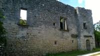 ce fut un beau château fort