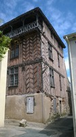 maison XIV e à Clairac