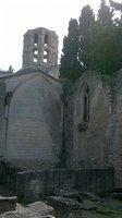 église st honorat site alyscamps à arles