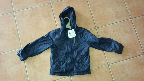 Blouson- Manteau d'automne 3 ans bleu marine