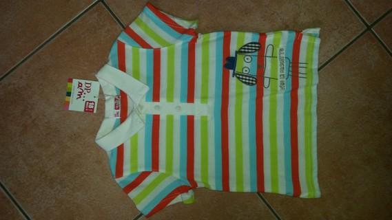 T-Shirt Multicolore Dpam Neuf 18 Mois