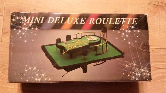 Mini Table De Roulette Deluxe