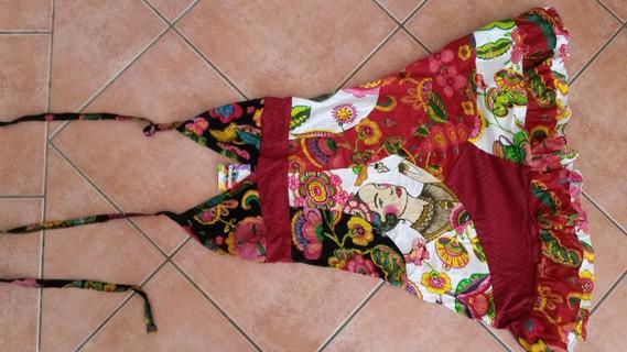 Robe Desigual Multicolore Neuve Taille M