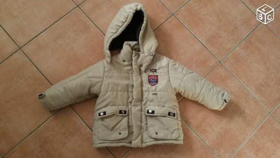 Manteau chaud pour enfant taille 24 mois