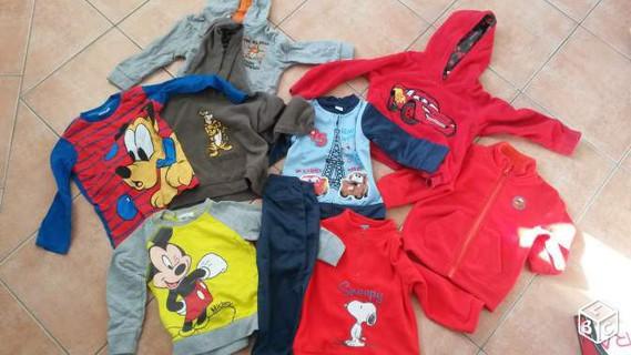 Lot de vêtements disney pour enfants 2-3ans