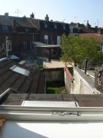 Vue depuis notre fenêtre