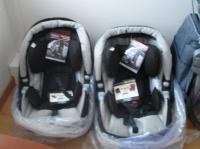 Les cosys (sièges auto et adaptables sur la poussette)