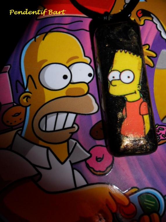 Pendentif Bart simpson