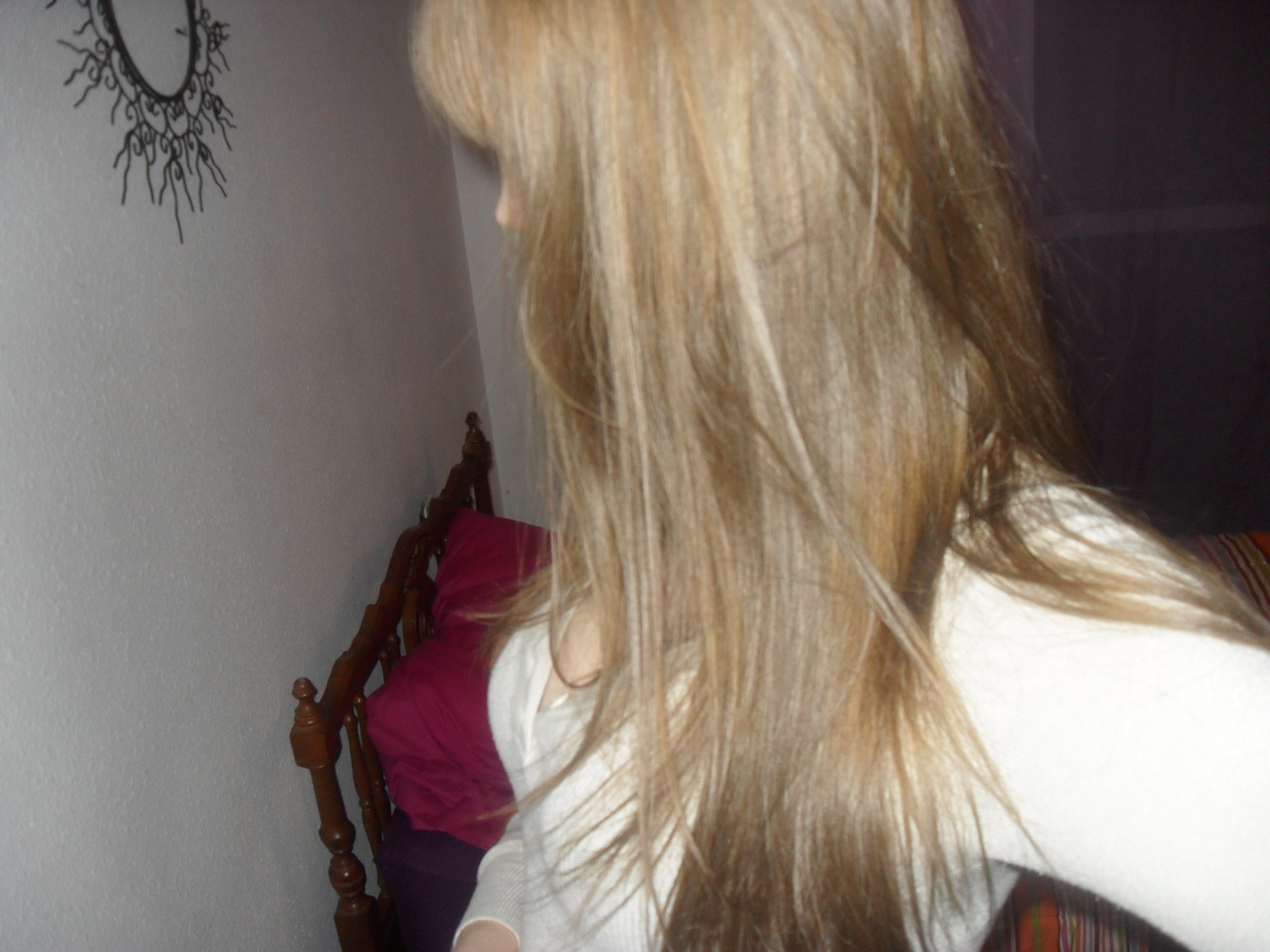 limage en grand - Belle Color Blond Cendr