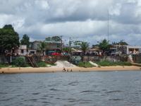 Ioapoqué (Brazil) frontière avec la Guyane