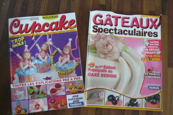 magazines cupcakes et gateaux spétaculaires
