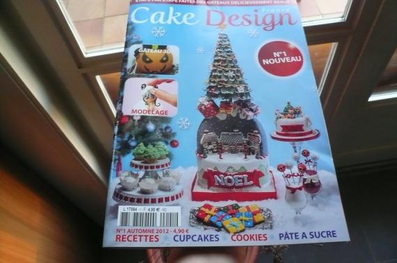 magazine cake design france