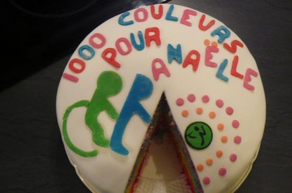 rainbow cake pour anaelle