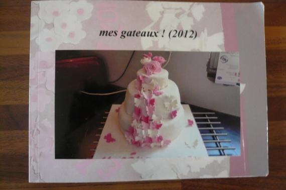 livre mes gateaux 2012