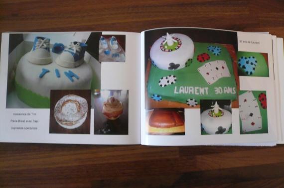 intérieur de mon book !!