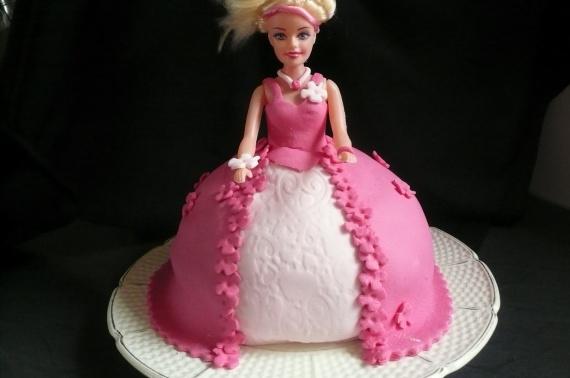 gateau princesse chocolat blanc