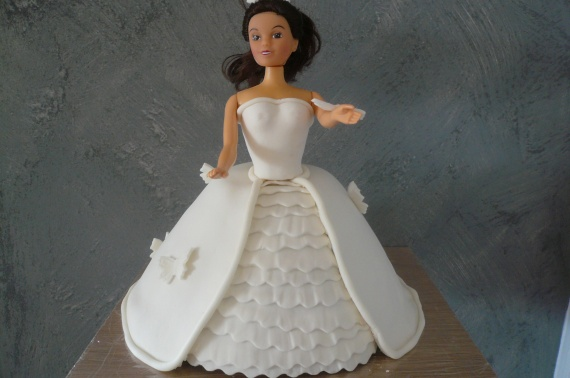 gateau princesse blanche fourré speculoos