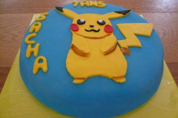 gateau nutella pikachu 2D