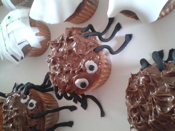 cupackes araignée