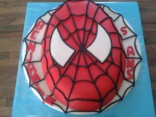 gateau spiderman- maniedesgateaux