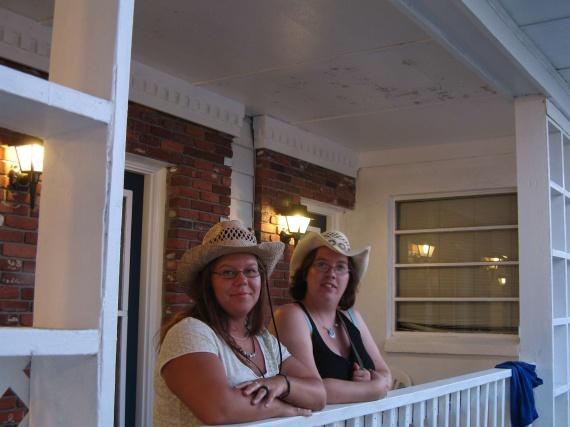 les filles en cowgirl