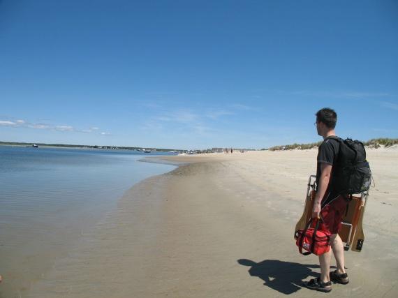 jim a la plage:)
