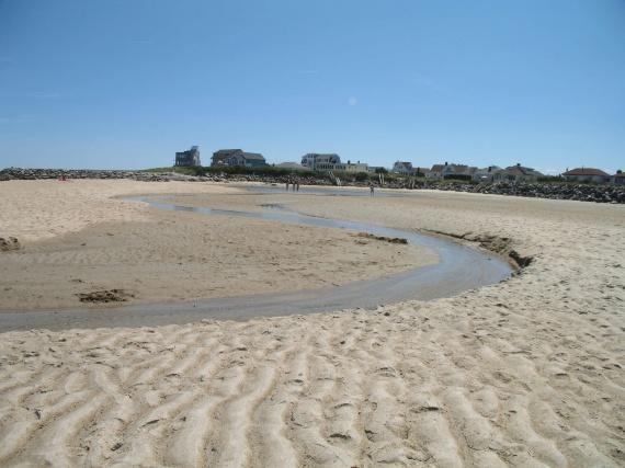maison sur le bord de al plage
