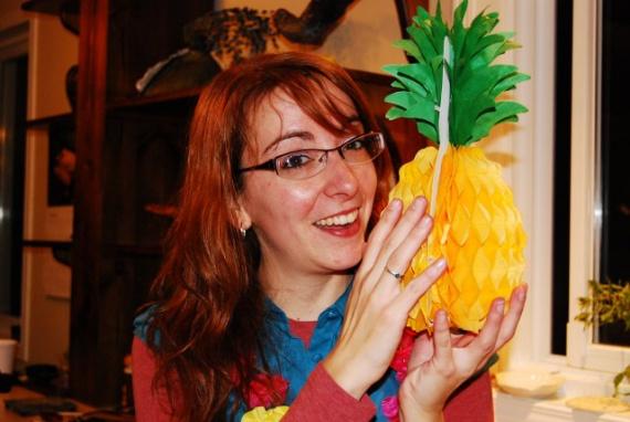 ma soeur et son ananas