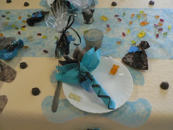 bapt me loris theme ourson coloris turquoise et chocolat bapt me forum famille. Black Bedroom Furniture Sets. Home Design Ideas