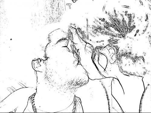 Amoureux noir et blanc1