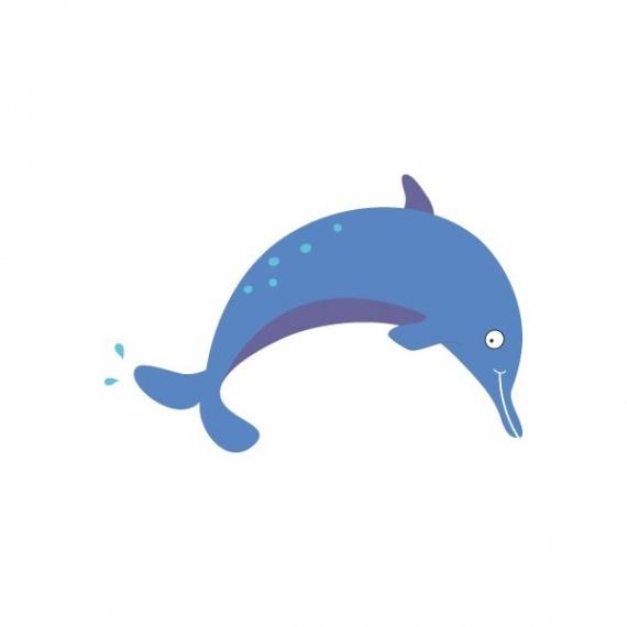 stickers-muraux-de-la-mer-dauphin