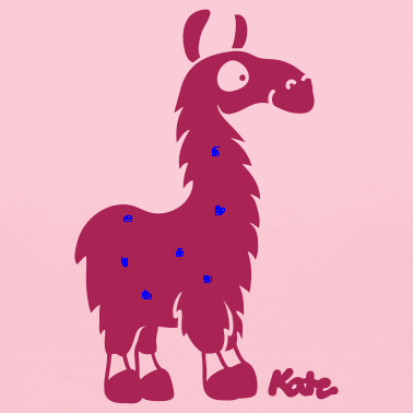 rose-lama-c-t-shirts_design