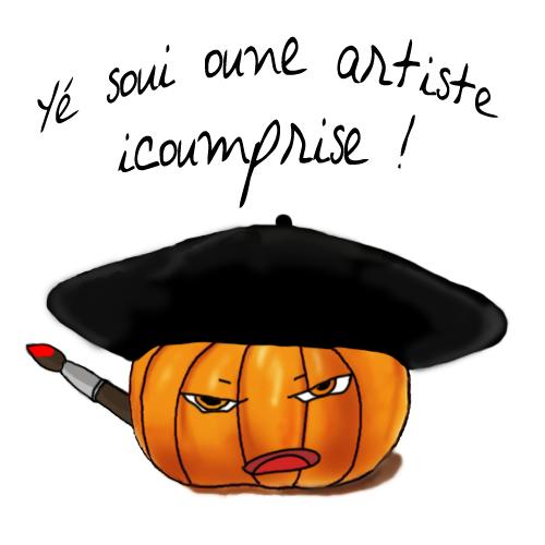 Courge_peintre