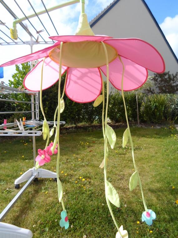 N°3- Ciel de lit en fleur vertbaudet 15 euros - Puériculture - ma ...