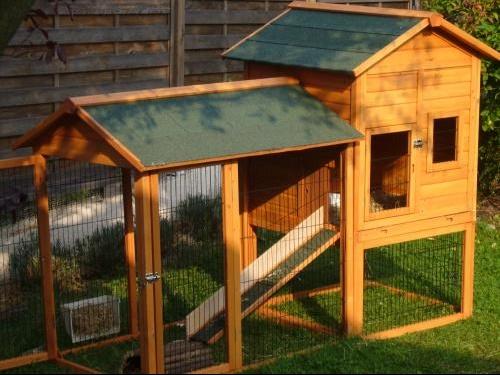 Cabane En Bois Pour Lapin : enclos en nylon – Hamsters, cochons d'Inde, lapins… – FORUM Animaux