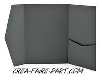 faire part pochette gris anthracite 2