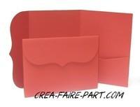 modèle rétro rouge