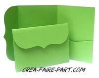 modèle rétro vert pomme