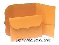 modèle rétro orange