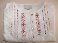 détail blouse Mila Blue